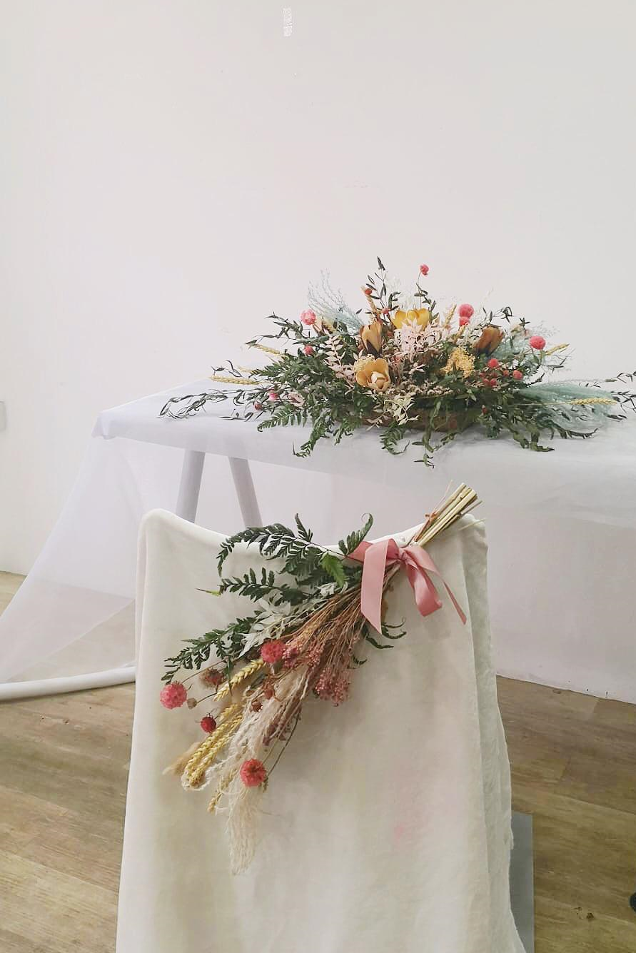 Solemnisation Table & Chair  - Photos ta