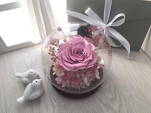 Preserved Flower Globe