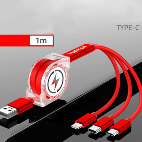Customisable 3-in-1 Charging Cable
