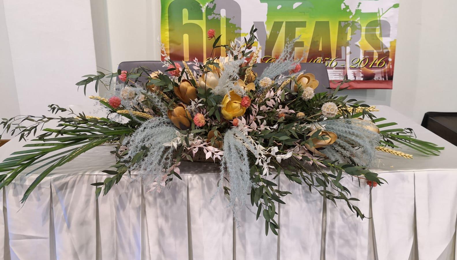 Solemnisation Table Flowers -1