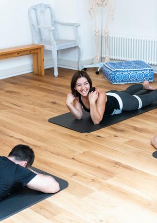 Pilates macht Spass