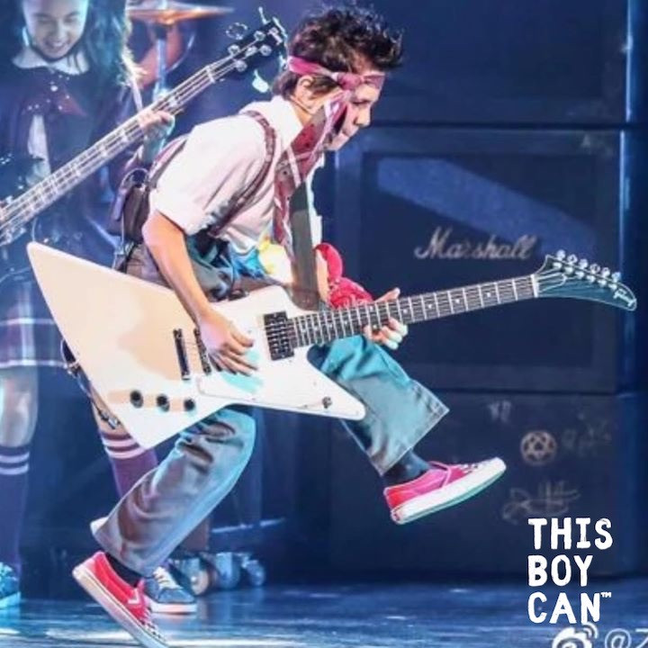 Jayden Tatasciore as Zach in School of Rock