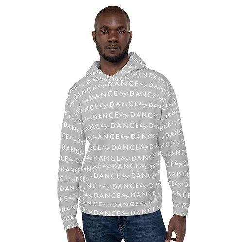 Boys DANCE Light Gray Unisex Hoodie