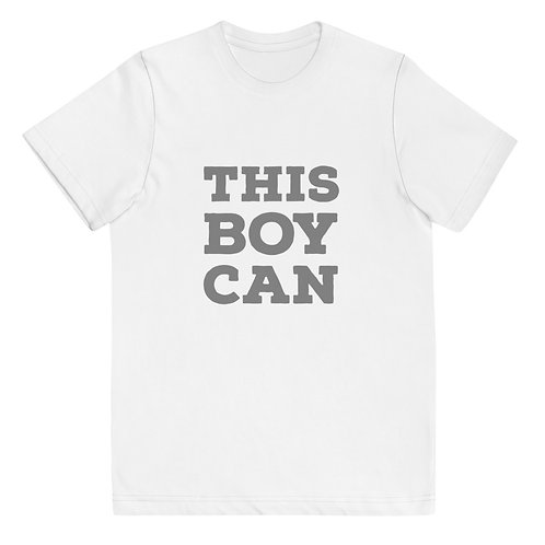 This Boy Can Youth jersey t-shirt