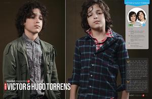 Victor & Hugo Torrens - modelling twins from Brazil
