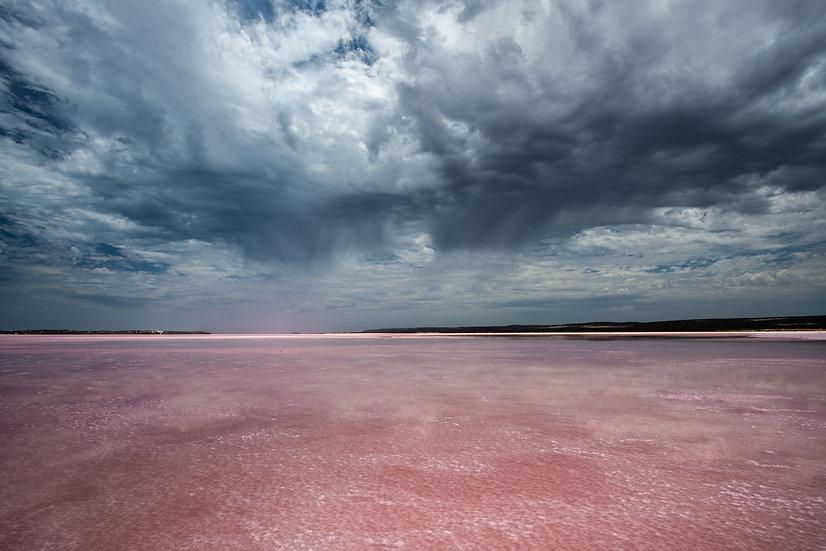 Pink Lake, Hutts Lagoon, Western Australia