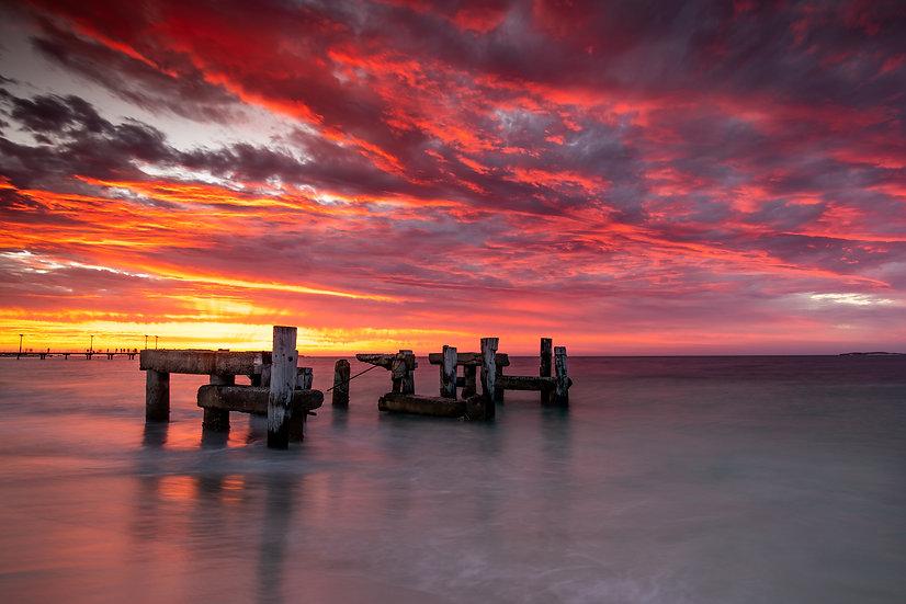 Jurien Bay, Jurien Bay Jetty, Sunset, Western Australia