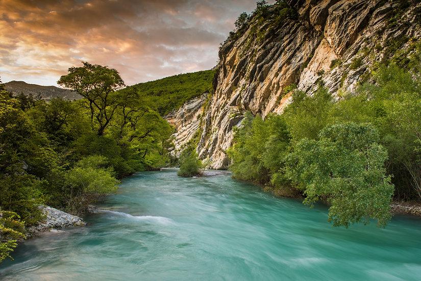 Adam Crews Imagery, Adam Crews, Adam Crews Photography, Sunrise, France, Europe, Gorge du Verdon, River