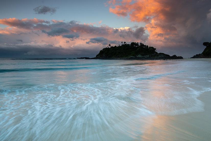Adam Crews Imagery, Adam Crews, Adam Crews Photography, Seal Rocks, Forster, Central Coast, Sunset, Beach