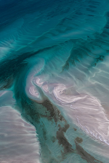 Shark Bay, Western Australia, Abstract, Abstract Photography, Aerial Photography