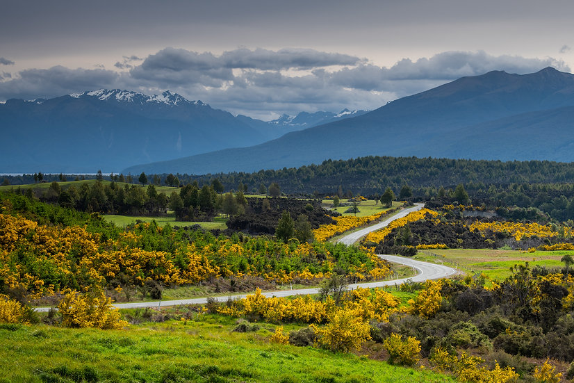 Adam Crews Imagery, Adam Crews, Adam Crews Photography, New Zealand, Mountains, Road, Fiordlands, snow