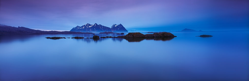Adam Crews Imagery, Adam Crews, Adam Crews Photography, Sunrise, Mist, Mountains, Lofoten Islands, Norway, Europe