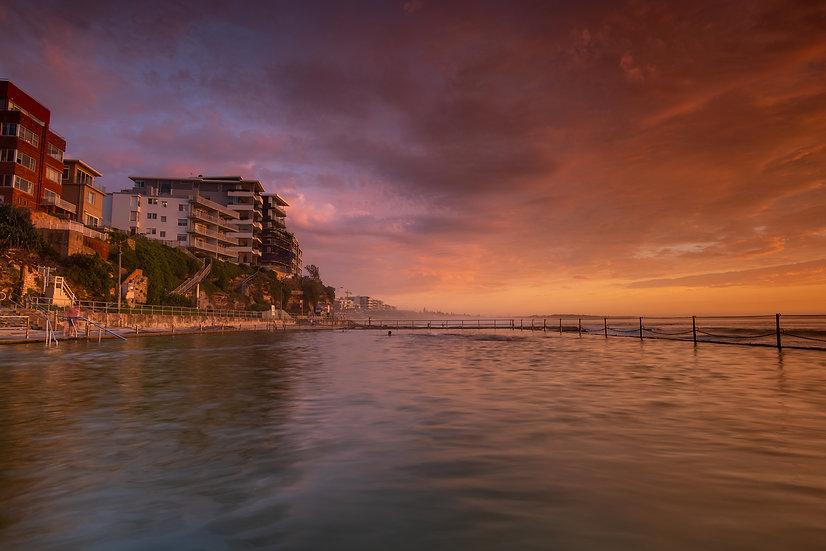 Cronulla Beach, Sunrise, Cronulla Bath, Cronulla
