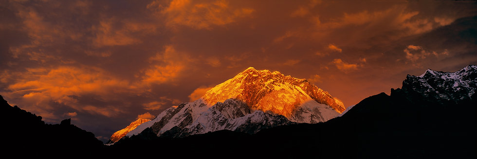 Nuptse Sunset