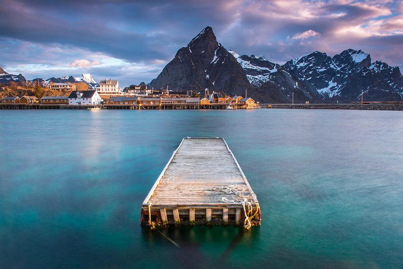Adam Crews Imagery, Adam Crews, Adam Crews Photography, Sunrise, Lake, Mountains, Lofoten Islands, Norway, Europe