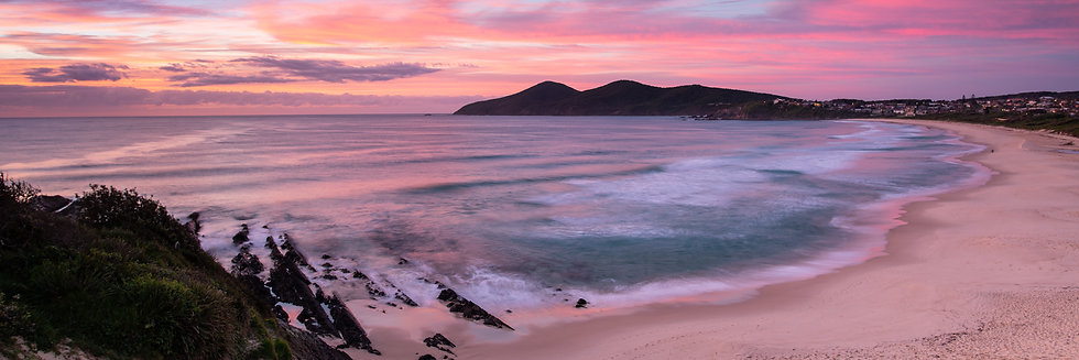 Adam Crews Imagery, Adam Crews, Adam Crews Photography, One Mile Beach, Forster, Central Coast, Sunrise, Beach