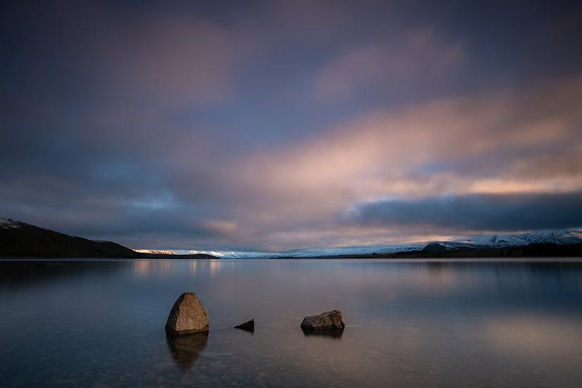 Adam Crews Imagery, Adam Crews, Adam Crews Photography, New Zealand, Mountains, Lake Tekapo, Lake, Clouds, Sunrise