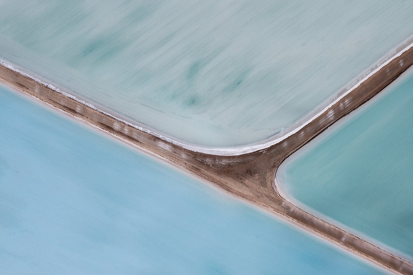 Shark Bay, Western Australia, Abstract, Abstract Photography, Aerial Photography, Useless Loop