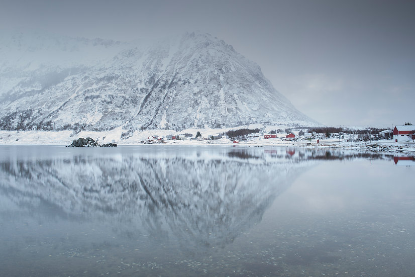 Adam Crews Imagery, Adam Crews, Adam Crews Photography, Sunrise, Lake, Mountains, Lofoten Islands, Norway, Europe