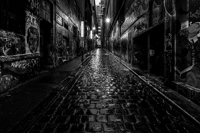 Grunge City Black