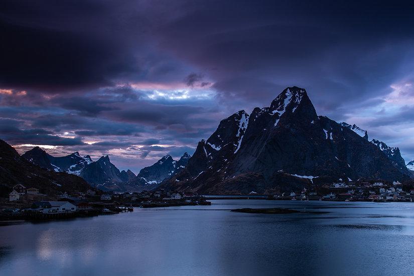 Adam Crews Imagery, Adam Crews, Adam Crews Photography, Lofoten Islands, Fishing Village, Stormy, Reine, Norway