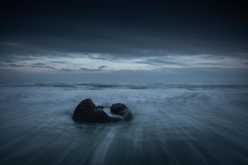Adam Crews Imagery, Adam Crews, Adam Crews Photography, New Zealand, Moeraki Boulders, Ocean, Swell, Long Exposure