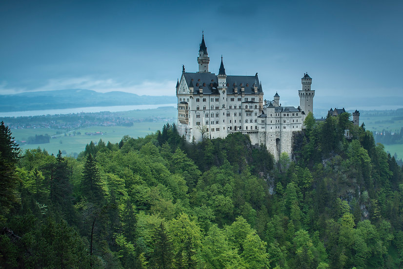 Adam Crews Imagery, Adam Crews, Adam Crews Photography, Sunrise, Neuschwanstein Castle, Germany, Europe