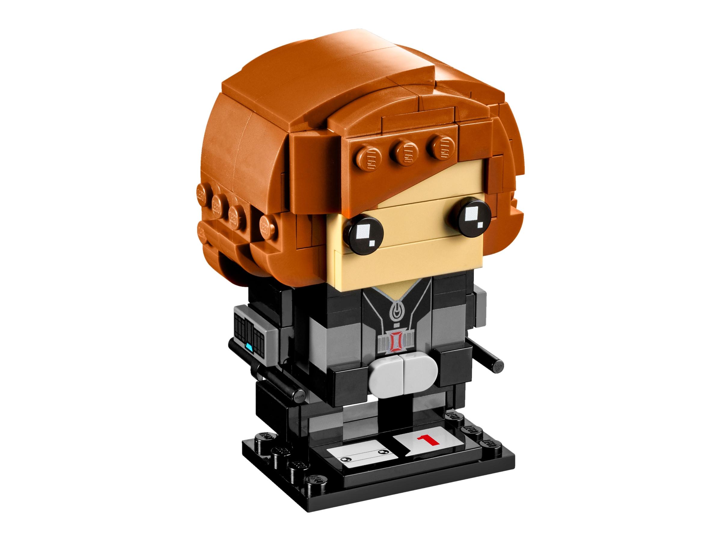 LEGO® Brick Headz Black Widow