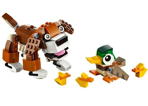 LEGO® Dog & Duck