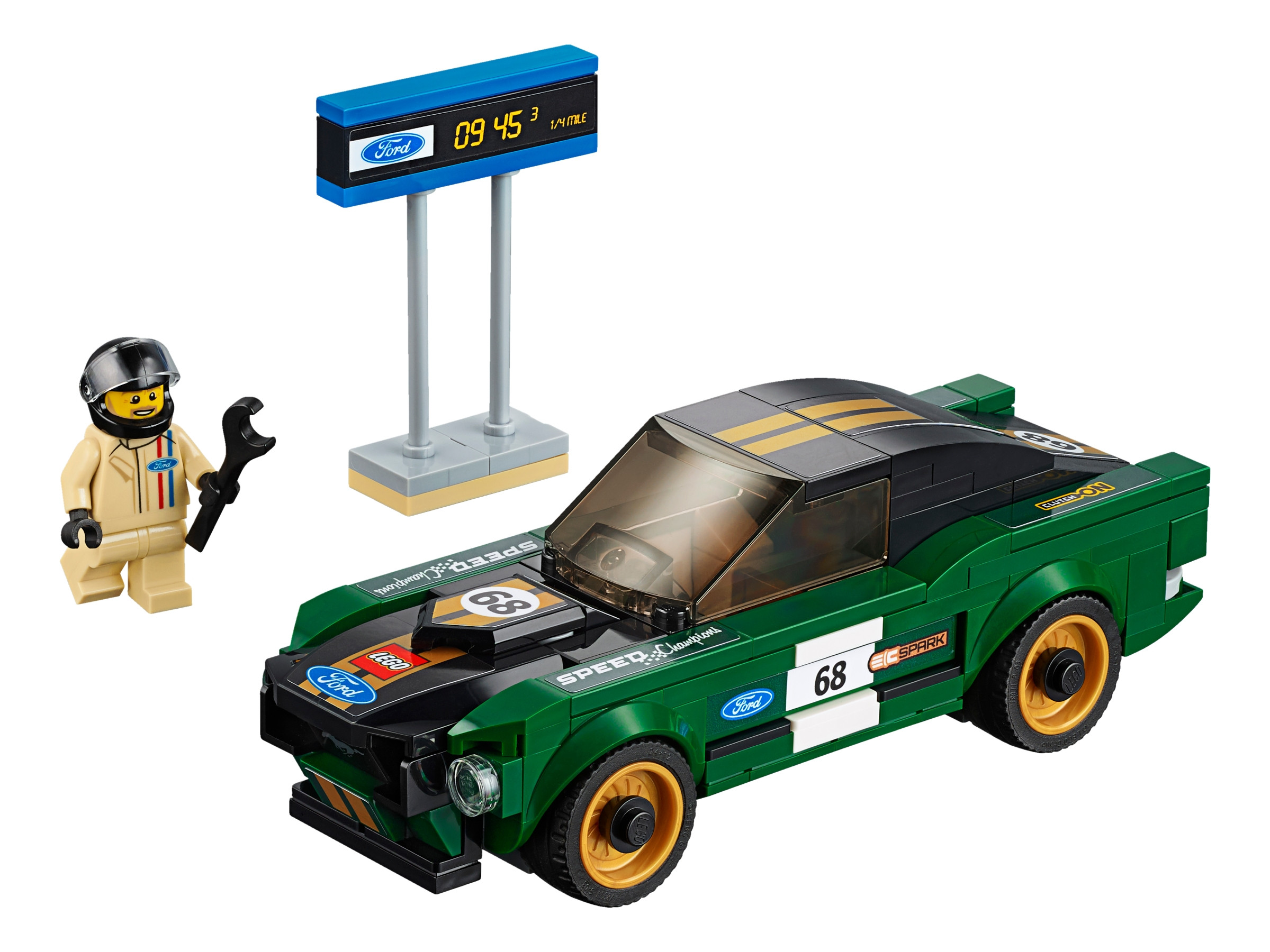 LEGO® Speed Champions 1968 Ford Mustang