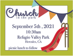Church in the Park 2021