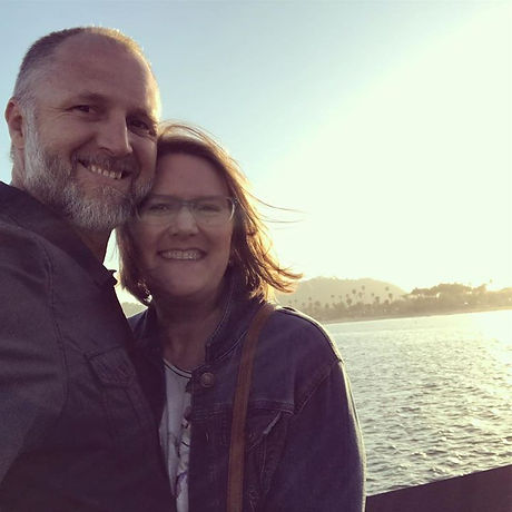 Santa Barbara sunset with my Sweetie ❤️