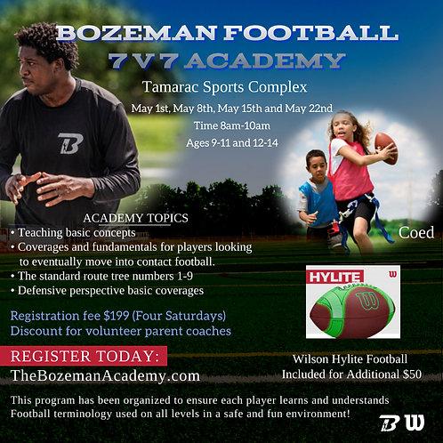 7V7 Academy with Wilson Football