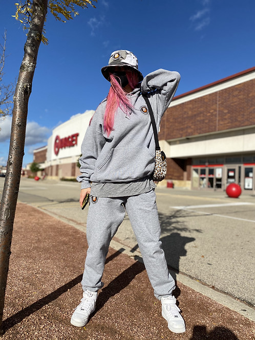 BD Patch Sweatpants - Grey