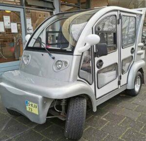 Buurtvlinder: een vervoersmiddel voor ritjes door Groningen-Zuid