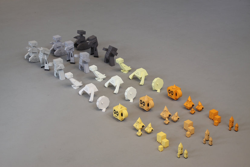 Paper Designer Toys