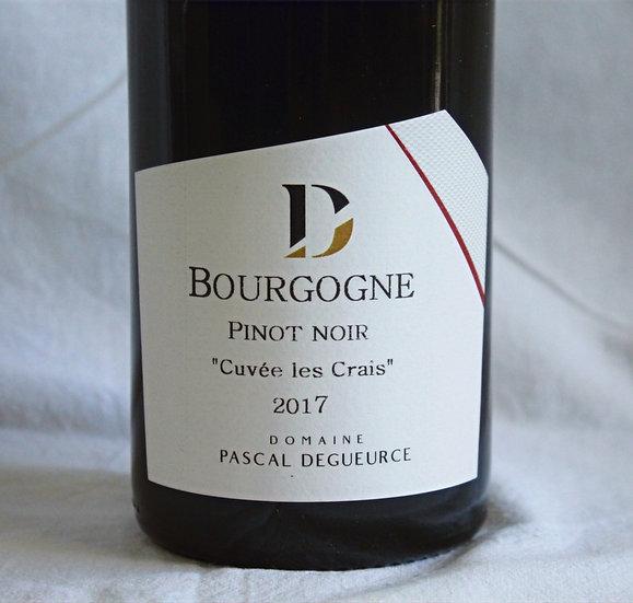 """Bourgogne Pinot noir """"Cuvée Les Crais"""" 2017"""
