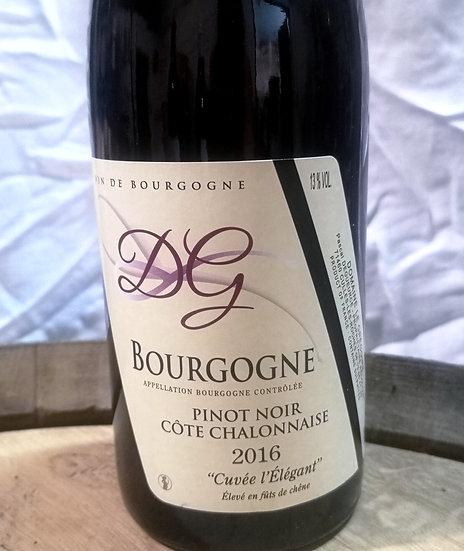 """Bourgogne Pinot noir """"Cuvée L'Elegant"""" 2016"""