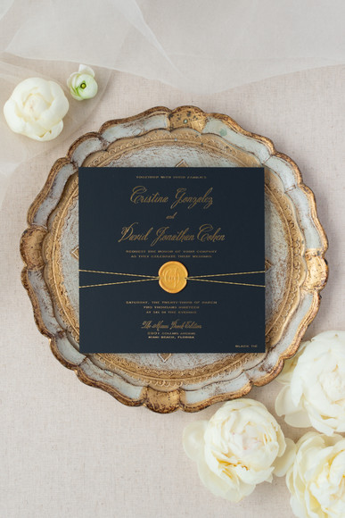 Cristina wedding invitation