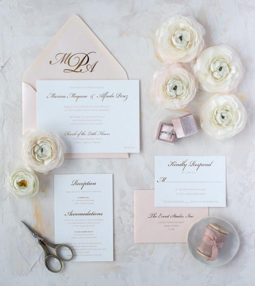 Marina and Alfredo wedding suite