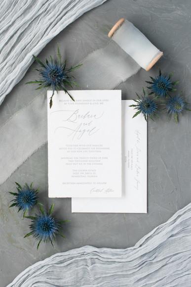Barbara's Wedding Invitation