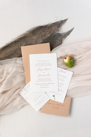 Soraya's Wedding Inviation Suite