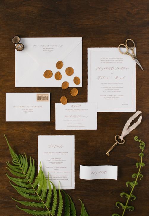 Elizabeth Wedding Invitation