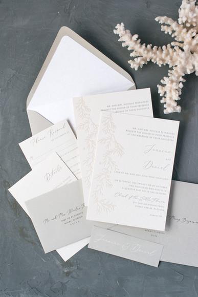 Jeanine Wedding Invitation Suite