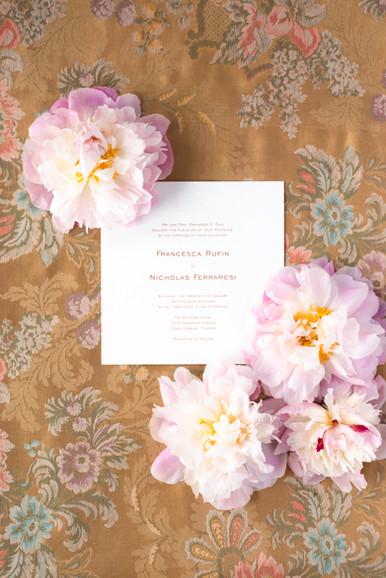 Francesca wedding invitation