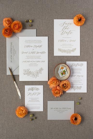 Catherine's Wedding Invitation Suite