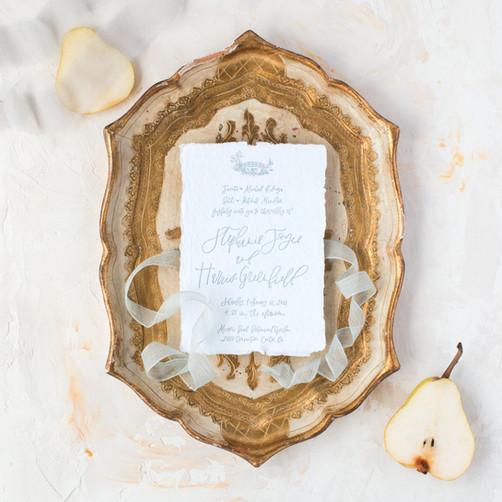 Stephanie's Wedding Invitation