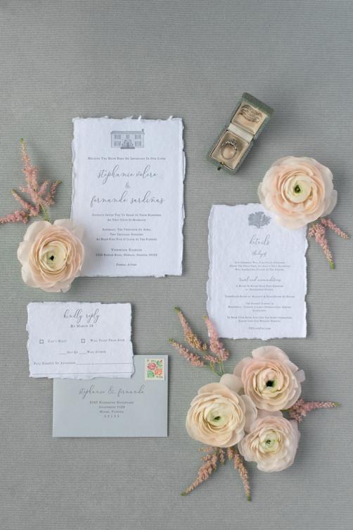 Stephanie's Wedding Invitation Suite
