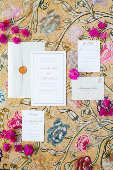 Alexandra's Wedding Invitation Suite