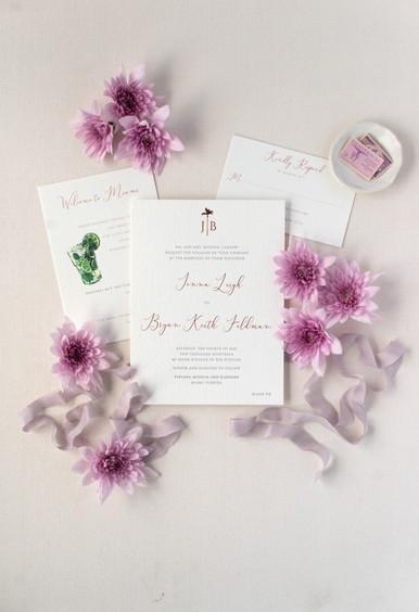 Jenna's Wedding Invitation Suite